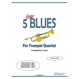 5 Easy Blues (Trumpet 4et)