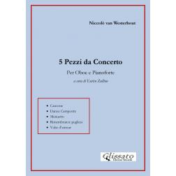 5 Pezzi da Concerto per Oboe e Pianoforte