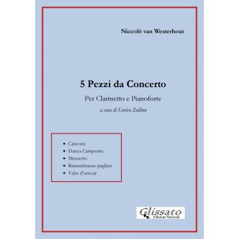 5 Pezzi da Concerto per Clarinetto e Pianoforte