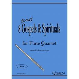 8 Gospels & Spirituals - Flute quartet (easy)