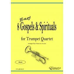 8 Gospels & Spirituals -Trumpet quartet (easy)