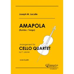 Amapola (Cello 4et)