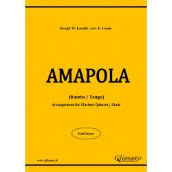 Amapola (Clarinet Choir)