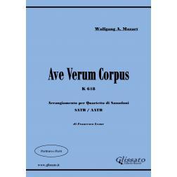 Ave Verum K 618 (sax4et)