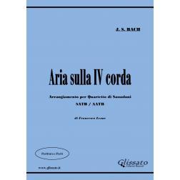 Aria sulla IV corda (sax4et)