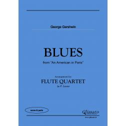 BLUES (an american in paris) Flute 4et