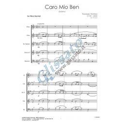 Caro mio ben (Wind 5et)