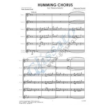 Coro a Bocca Chiusa (6 Flauti)