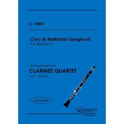 Coro di Mattadori Spagnuoli (Clarinet 4et)