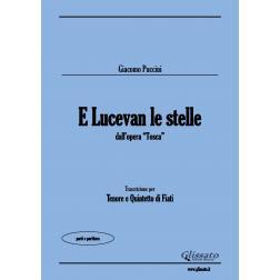 E Lucevan le stelle (Tenor & Wind 5et)