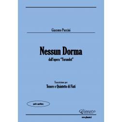 Nessun Dorma (Tenor & Wind 5et)