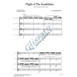 Il Volo del Calabrone (4 clarinetti)