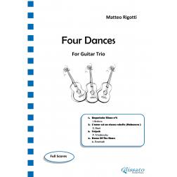 Four Dances (Guitar Trio)