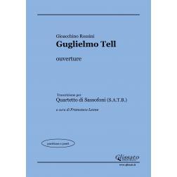 Guglielmo Tell (Sax 4et)