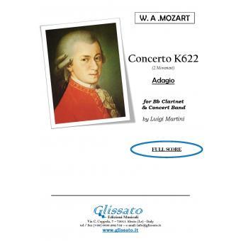 K622 Adagio - per Clarinetto e Banda
