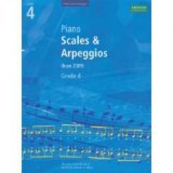 Piano Scales & Arpeggios, Grade 4 (ABRSM)