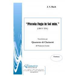 Piccola Fuga in Sol min ( BWV 578)