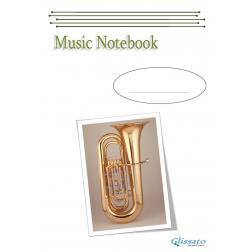 Quaderno di Musica (Tuba image)