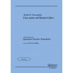 Una notte sul Monte Calvo (score)