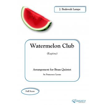 Watermelon Club (Ragtime)