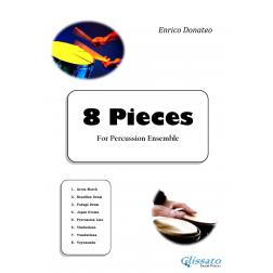 """8 Pieces"" for Percussion Ensemble"