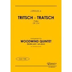Tritsch - Tratsch Polka (wind 5et)